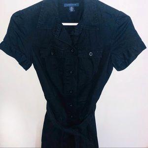 Tommy Hilfiger✨Button-Down Tie-Waist Casual Dress